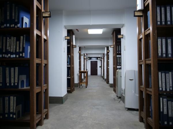 대학원 중앙도서관에 위치한 한적실(漢籍室). '한문으로 쓴 책을 보관하는 곳'을 의미한다.